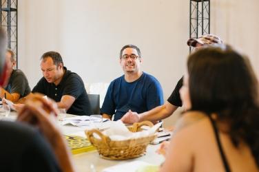 Reunião HOBRA - Batman Zavareze e Chico Dub