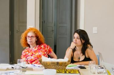 Reunião HOBRA - Bia Junqueira e Ana Studart