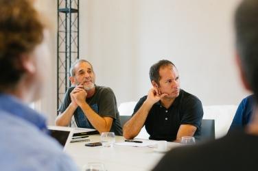 Reunião HOBRA - Victor Haim e Batman Zavareze
